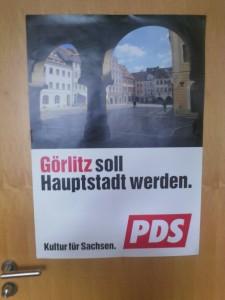 Plakat aus der Bewerbungsphase zur Kulturhauptstadt 2010