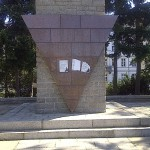 Nazi Plakate am VVN Denkmal in Görlitz am 20.08.2011